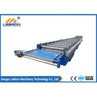 Best Blue color New blue color corrugated roof sheet roll forming machine made in China Automatic PLC Control wholesale
