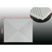 Best Custom made  Metal Clip In Ceiling Tiles For bathroom 500x500mm , 300x450mm wholesale
