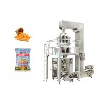 China Popcorn Vertical Granular Packing Machine With 10 Heads Weigher Low Noise on sale