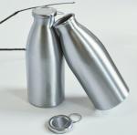Best 330ml Coca Cola Aluminum Bottle Polishing 1-9 Color Offset Printing Surface wholesale