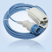 China Philips adult finger clip SPO2 probe 3meter round 12pin on sale