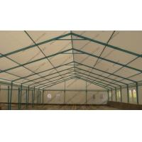 Best Blue Colored Portable Storage Tents Waterproof Steel As Semi - Permanent Warehouse wholesale