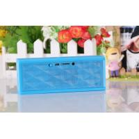 China Nice sound quality Cube strong bass long wireless bluetooth speaker support memory card on sale