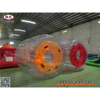 Best Transparent Floating Inflatable Water Game Durable PVC Roller For Running wholesale
