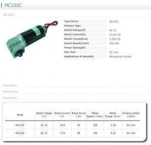 Best Gear motor MC102C wholesale