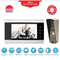 Best With Motion Detection Alarm wired Video Intercom Phone AC 12 video Door Bell wholesale