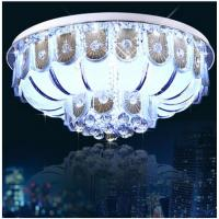 Best Luxury crystal ceiling lamp silver crystal moscia ceiling lighting wholesale