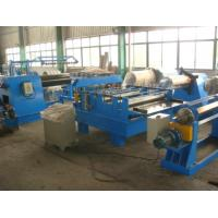 11Kw Motor Power  Cut to length Line Steel Slitting Machine High Speed Carbon Steel  Thickness 0.25 - 1.2mm