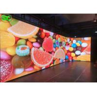 China P4 Curved Video Wall Indoor Full Color LED Display Rental Full Color LED Screen on sale
