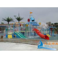 Best Outdoor 7m Water Playground Equipment Aquatic Play Structures Slide for Toddles wholesale
