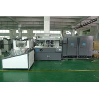China PET / PP / PE Plastic  Container Automatic Silke Screen Printing Machine 4000pcs / hr With IR Dryer on sale