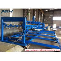 Best Blue Auxiliary Equipment Run Out Stacker For Dual Layer Corrugated Sheet Forming Machine wholesale