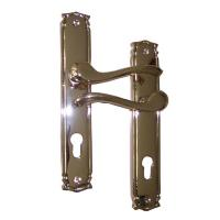 Best High Quality Forged Brass Door Handle With Antique Patterns and PVD Finish wholesale