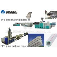 Best Pvc Pp Pe Ppr Pipe Making Machine Ppr Pipe Extruder Line Long Life Time wholesale
