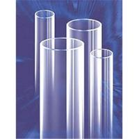 China Clear quartz glass tube on sale
