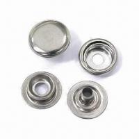 Best Stainless Steel Press Snap Buttons, Suitable for Workplace Safety Garments wholesale