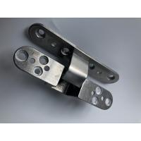 China 145x28x4.0mm 180 Degree Concealed Door Hinge / Invisible Cabinet Hinges on sale