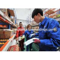 China Prefabricated Metal Modular Warehouse Buildings , All Steel Building Systems on sale