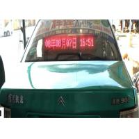 Best 10mm Pixels Ip65 Car LED Sign Display / Led Message Board For Car wholesale