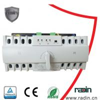 Best 0.2s Fixed Static Transfer Switch , MCB Inside 6A - 63A 3 Phase Transfer Switch wholesale