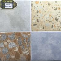 Ceramic 300x300mm Multicolor Low Water Absorption Ink-jet printing Glazed Rustic Tiles