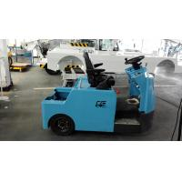 Best Blue Baggage Towing Tractor Carbon Steel Material With Lead Acid Battery wholesale