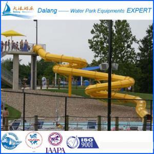 Best Tube Swimming pool water slide playground slide wholesale