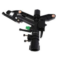 China 1 Inch Adjustable Plastic Impact Water Sprinkler Agriculture Garden Irrigation on sale