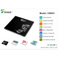 China CW261A  High Precision bathroom scale up to 400 pounds with Strain Gauge Sensors on sale