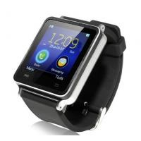 Buy cheap I7 handsfree Watch Phone Bluetooth Smart Watch Black Wearable Smart Watch from wholesalers