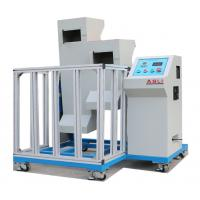 China Mobile Phone Drop Testing Machine , Two Zones Lab Drop Test Equipment on sale