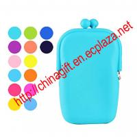 China Silicone Coin Purse and Mobile Phone Protecting Bag on sale
