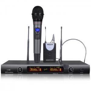 Buy cheap UHF Wireless Microphone #U-200B1 from wholesalers