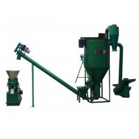 Best 15kw Noiseless Straw Wood Pellet Machine With High Effciency wholesale
