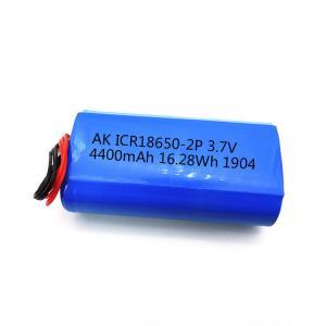 Best CC CV 18650 UN38.3 4400mAh Li Ion 3.7 V Battery MSDS wholesale