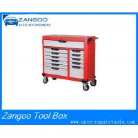 Best Mobile Double Wall 9 / 12 Drawer Roller Tool Box With MIS Function wholesale