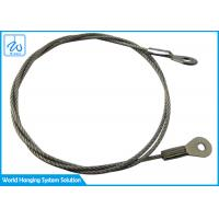 China 7x7 Eye - To - Eye Steel Lifting Wire Rope Lanyard Kit Wear Resistant on sale