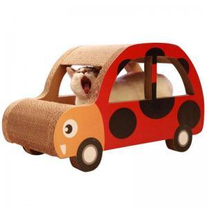 Best Pet Toy Cardboard Cat Scratcher , 100% Recyclable Cat Scratch Pad Cardboard wholesale