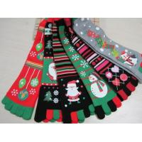 Best Christmas decoration ornaments gifts,Christmas tree  stockings, five fingers socks, animated cartoon style wholesale
