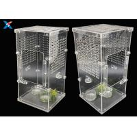 Best Transparent Acrylic Modern Furniture Pet Breeding Box Plexiglass Reptile Cages wholesale