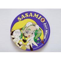 Best Factory price Eco-friendly promotional custom promotional rubber soft pvc silicone coasters wholesale