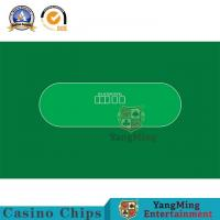 Best Waterproof Flannelette Casino Table Layout With Baccarat Texas Poker Deluxe Customize wholesale