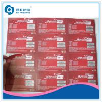 Best Custom Printed Product Labels , Brand Protection Tamper Proof Stickers wholesale