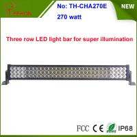 """Best 270w 35"""" 3 rows waterproof IP67 LED light bar, LED mining bar, for 4x4 truck and 4wd auto wholesale"""