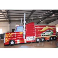 Best Transformers Truck Inflatable Obstacle Course wholesale