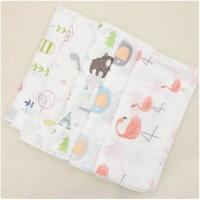 Best Natural Bamboo Muslin Fabric 100 Cotton Enviroment Friendly Customized Material wholesale