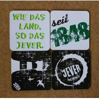 Best absorbent paper Material and Eco-Friendly Feature paper coaster with custom logo printed wholesale