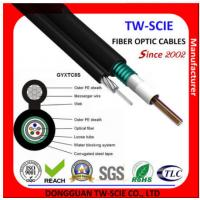 Best Black Color Self Supporting Aerial Cable , 12 Core Fiber Optic Cable TW-SCIE wholesale