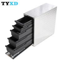 China Professional Metal Tool Storage Box , Metal Hand Carry Tool Boxes on sale