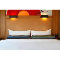 Cheap HPL Laminate plywood hotel furniture liquidators Guest rooms Wood Headboards for sale